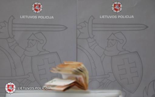 Policija ieško pinigų savininko