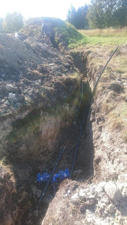 Vamzdynai naujės ir vandens kokybė gerės