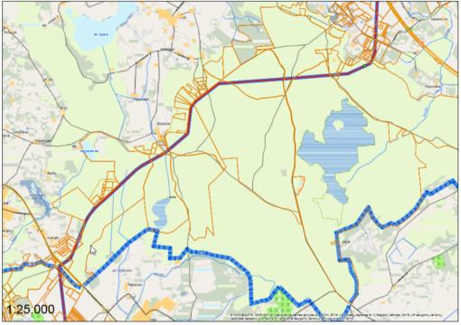 Per Širvintų rajoną nusidrieks nauja dujotiekio trasa