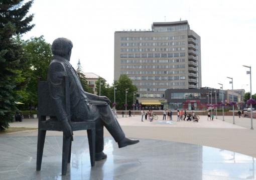 Pasirašyta sutartis dėl Laisvės aikštės Panevėžyje ir jos prieigų kompleksinio sutvarkymo