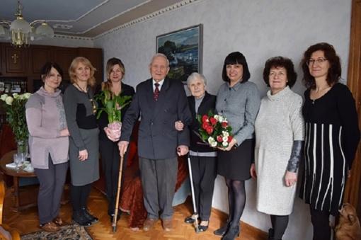 Garbų jubiliejų šventė pirmasis Priekulės seniūnas Donatas Lazauskas