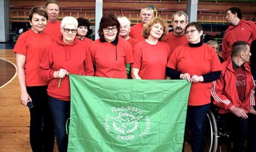 Radviliškiečių pergalės Bauskės neįgaliųjų sporto šventėje