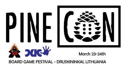 """Stalo žaidimų festivalis PineCon 2019: """"Žaidimas – dalykas rimtas"""""""