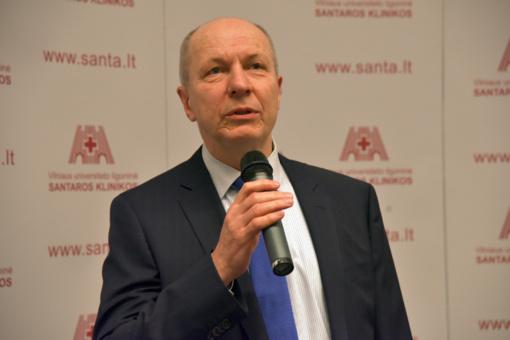 Santaros klinikoms pradėjo vadovauti F. Jankevičius