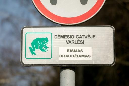 Vilniaus parkuose – saugi varlių migracija