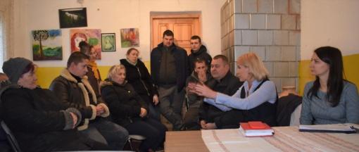 Aptariami nauji projektai kaimiškose vietovėse