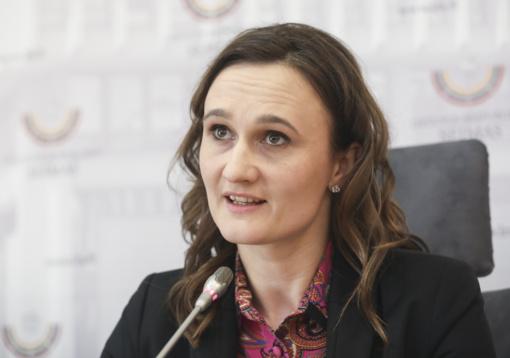 Parlamentarė V. Čmilytė-Nielsen - Seimo opozicijos lyderė