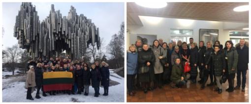 """Projekto """"Lyderių laikas 3"""" dalyviai patirties sėmėsi Estijos ir Suomijos mokyklose"""