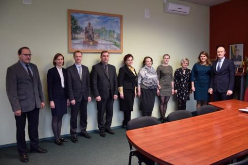 Savivaldybėje vyko tęstinis susitikimas dėl bendrų projektų rengimo
