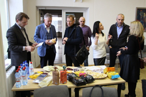 Savivaldybėje vyko verslo atstovų susitikimas