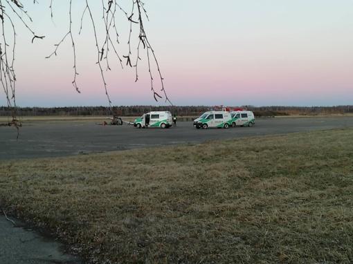 Joniškio rajone aerodrome nukritus sraigtasparniui žuvo du vyrai