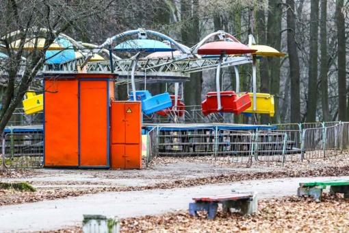 Kauno savivaldybė iki kovo pabaigos reikalauja išmontuoti Vytauto parko karuseles