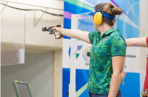 Lietuviai baigė pasirodymą Europos šaudymo čempionate