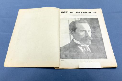 Nacionalinės bibliotekos leidiniai – Prezidento A. Smetonos dvarui
