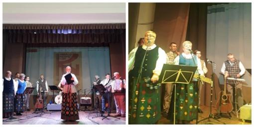 """Virbalio kultūros namų liaudiškos muzikos kapela """"Pliumpa"""" atšventė penkerių metų veiklos sukaktį"""