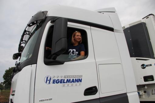 Vilkiko vairuotoja Olga Solodukhina iš Ukrainos: darbas man ir aistra, ir galimybė suteikti ateitį šeimai