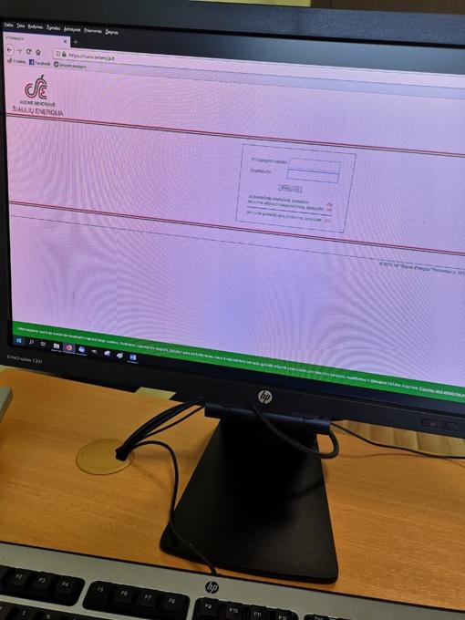 """AB """"Šiaulių energija""""  sąskaitas galite gauti ir internetinėje elektroninių paslaugų svetainėje mano.senergija.lt"""