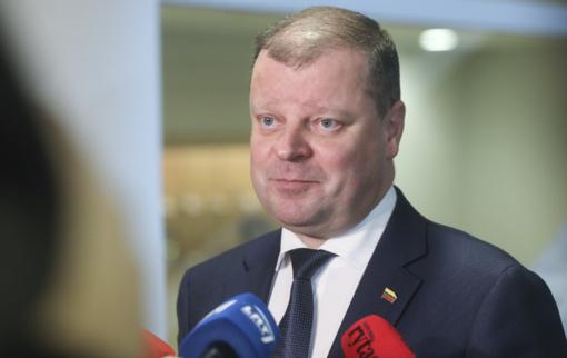 Ministrai pasisakė apie premjero traukimąsi iš pareigų: giria nuveiktus darbus, žada trauktis kartu
