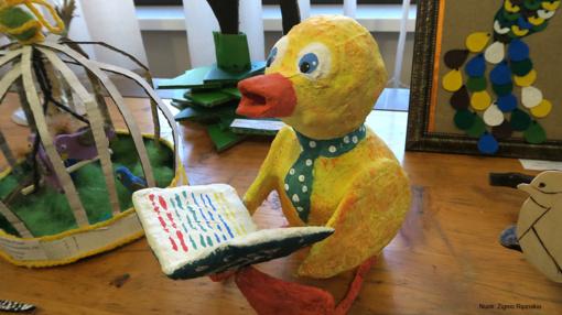 """Respublikinis mokinių kūrybinių darbų konkursas-paroda """"40 paukščių belaukiant"""" (nuotraukos)"""