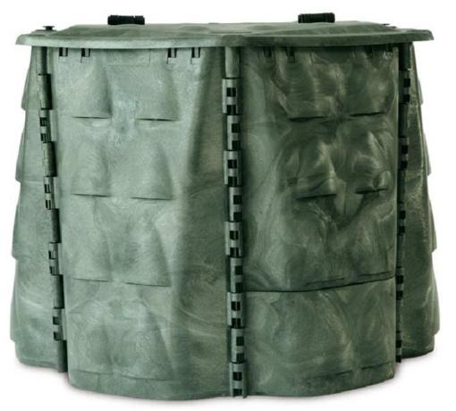 Dalijami kompostavimo konteineriai