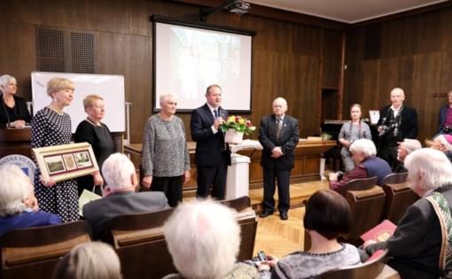 Iškilmingai  paminėtas Šilalės garbės piliečio Albino Kentros jubiliejus