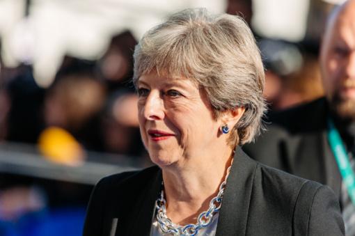 """Britanijos premjerė Th. May sieks ilgesnio """"Brexit"""" atidėjimo"""