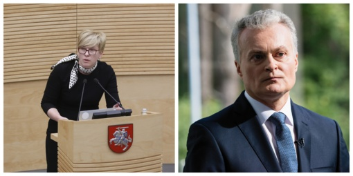VTEK netirs kandidatų į prezidentus I. Šimonytės ir G. Nausėdos elgesio