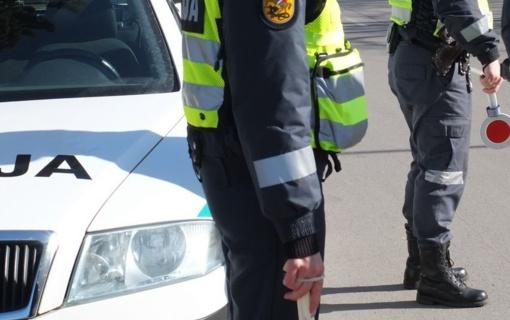 Alytuje sulaikytas sunkvežimį vairavęs neblaivus vairuotojas