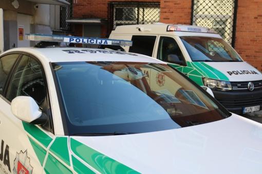 """Į Vilniaus policiją komisariatą buvo atneštas sprogmens muliažas, """"Skydas"""" atšauktas"""