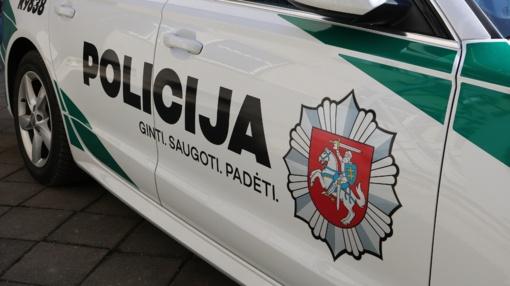 Druskininkuose į avariją papuolė policijos pareigūnas