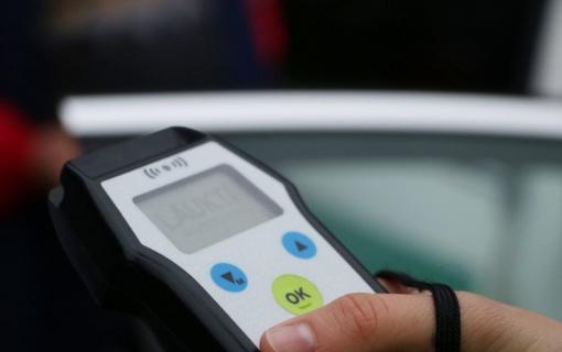 Klaipėdos rajone sustabdytas keturias promiles įpūtęs vairuotojas