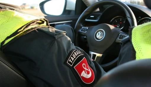 Avarija Kupiškio rajone: džipe prispaustas žmogus