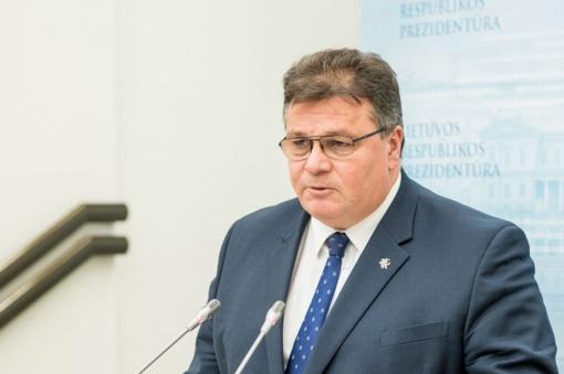 L. Linkevičius: NATO imsis visų reikiamų priemonių kolektyvinės gynybos ir atgrasymo patikimumui užtikrinti