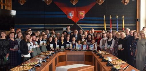 Mero pusryčiuose tradiciškai padėkota geriausiems rajono mokiniams ir mokytojams