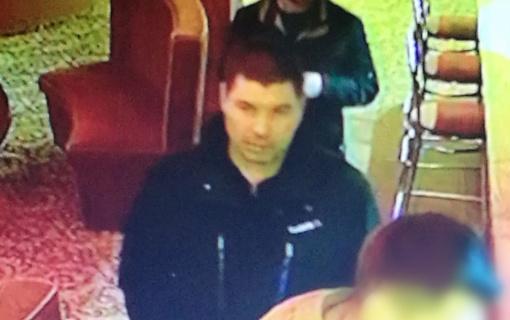 Policija prašo pagalbos atpažintį nusikaltėlį