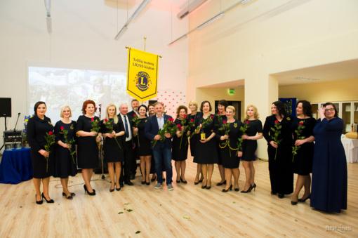 Gėrio pėdomis per penkerius Telšių moterų LIONS klubo metus