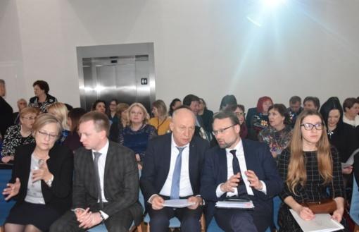 Kultūros ministras - savivaldybių viešųjų bibliotekų asociacijos renginyje Marijampolėje