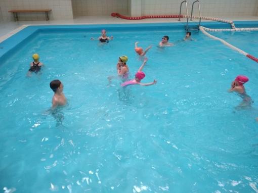 Mokomės plaukti
