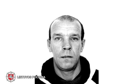 Policija ieško dingusio be žinios vyro