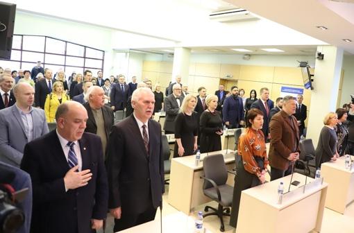 Prisiekė naujoji Šiaulių miesto savivaldybės taryba ir meras