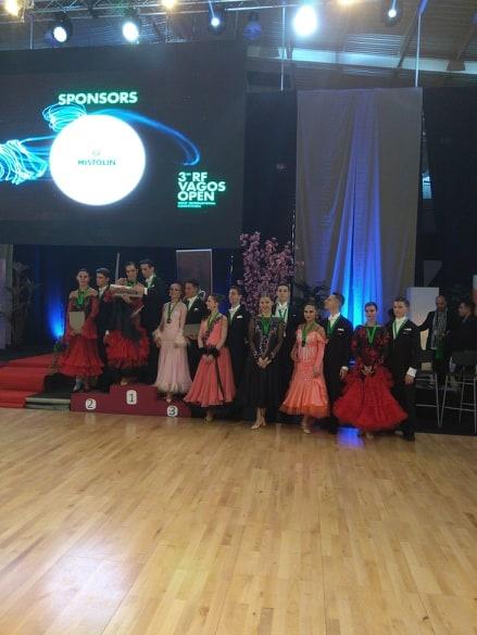 Šilutiškiai šokėjai dalyvavo tarptautinėse varžybose