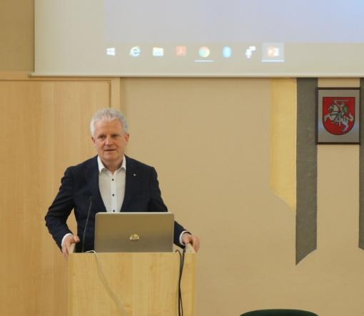 Respublikinėje Šiaulių ligoninėje – išskirtinė konferencija