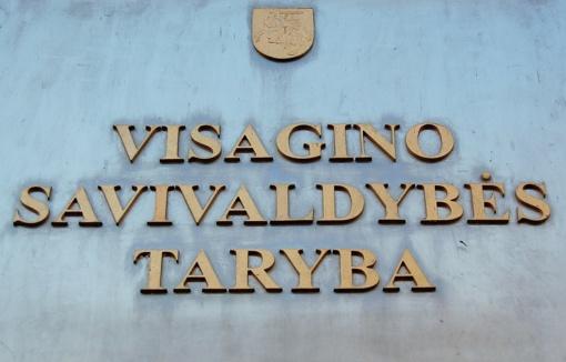Balandžio 12 d. – Visagino savivaldybės tarybos posėdis