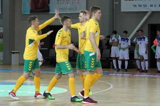 Futsal rinktinei – Gruzijos išbandymai