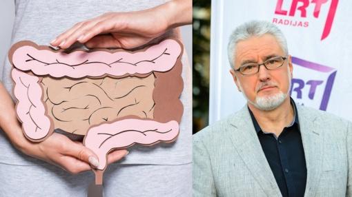 Daktaras Unikauskas: keisti kūno pojūčiai gali pranešti apie pralaidų žarnyną