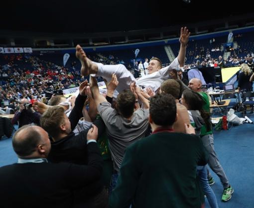 Dar vieną Europos čempiono titulą Lietuvai iškovojo E. Sečinskis