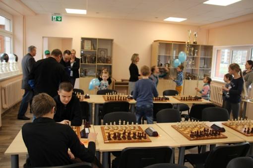 Atidarytos naujos erdvės rajono šachmatininkams ir stalo tenisininkams