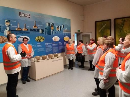 Kultūros darbuotojai aplankė Utenos kraštą