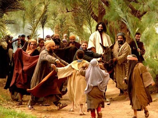 Didžioji Velykų savaitė. Verbų arba Palmių sekmadienis