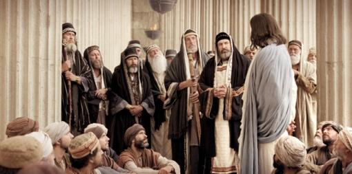 Didžioji Velykų savaitė. Pirmadienis - Kristus šventykloje